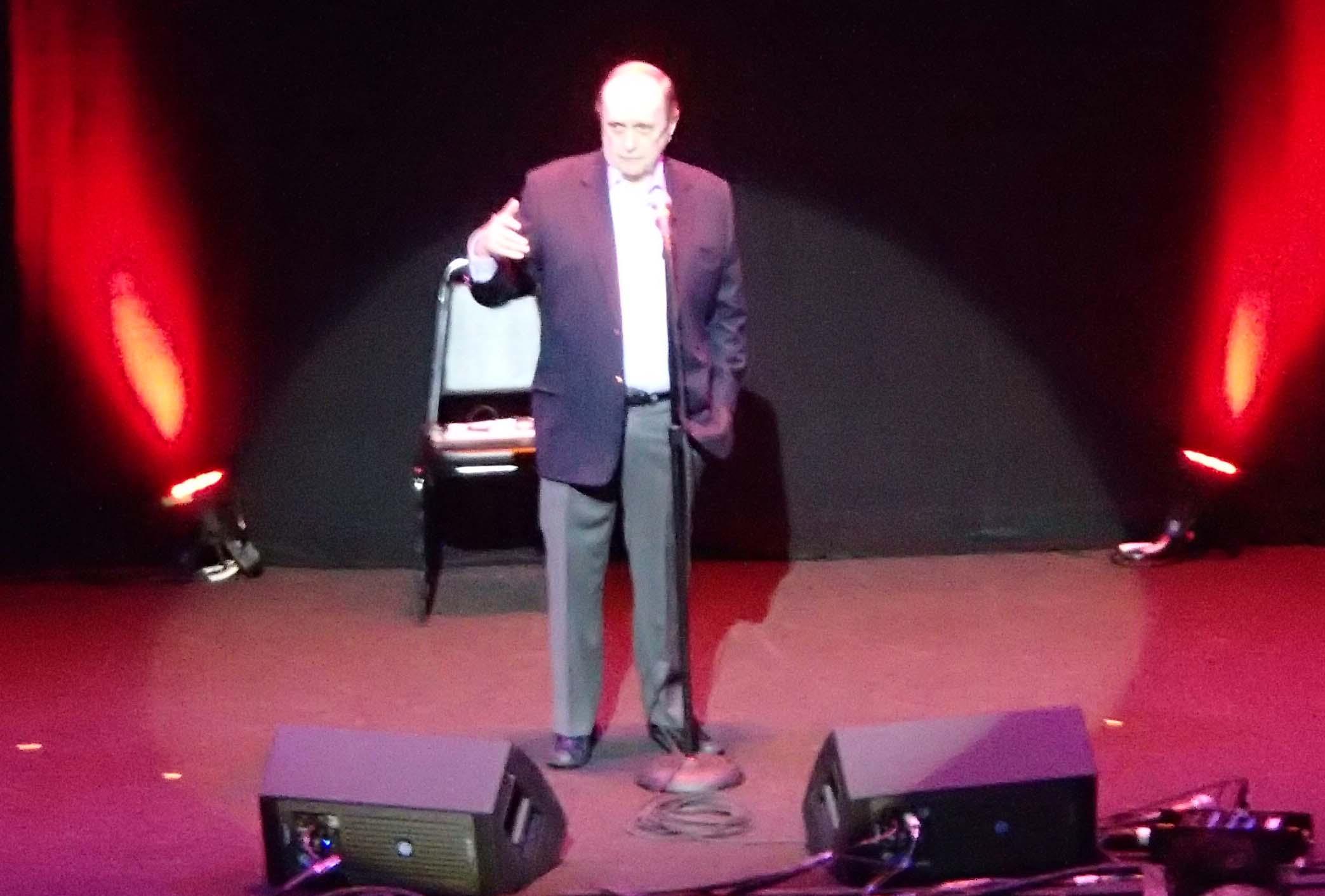 Bob Newhart Wilbur Theatre 10/6/2012