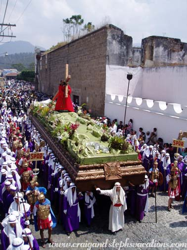 Good Friday Procession, Antigua